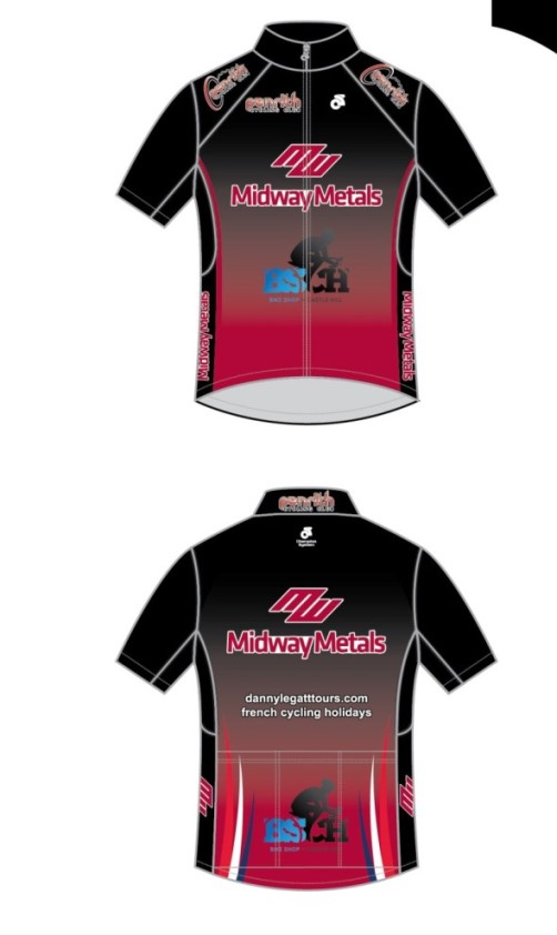 Penrith Cycling Club 2015 Jersey