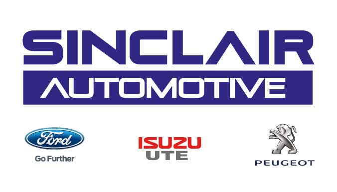 Sinclair Automotive Sinclair Automotive is a Ford, Isuzu Ute & Peugeot dealership with new car sales, used car sales service and parts. Join the family.